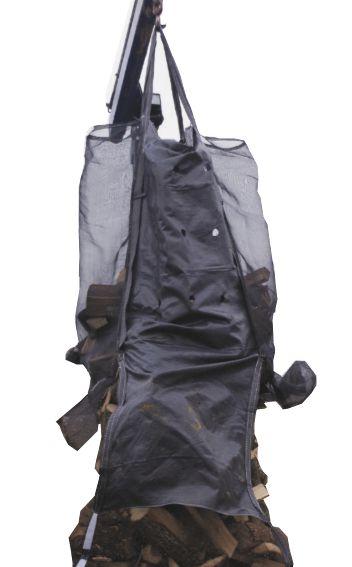 Poche à bois de chauffage d'une corde Open-bottom big-bag